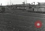 Image of bomb damaged rail road station Hamm Germany, 1945, second 55 stock footage video 65675062219