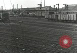 Image of bomb damaged rail road station Hamm Germany, 1945, second 56 stock footage video 65675062219