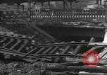 Image of bomb damaged rail road station Hamm Germany, 1945, second 5 stock footage video 65675062220
