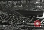Image of bomb damaged rail road station Hamm Germany, 1945, second 8 stock footage video 65675062220