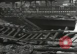 Image of bomb damaged rail road station Hamm Germany, 1945, second 10 stock footage video 65675062220
