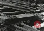 Image of bomb damaged rail road station Hamm Germany, 1945, second 52 stock footage video 65675062220