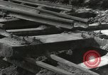 Image of bomb damaged rail road station Hamm Germany, 1945, second 54 stock footage video 65675062220