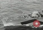 Image of Wounded transferred, ship-to-ship, on Stokes stretcher Mariana Islands, 1944, second 6 stock footage video 65675062229