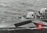Image of Wounded transferred, ship-to-ship, on Stokes stretcher Mariana Islands, 1944, second 14 stock footage video 65675062229