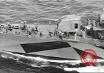 Image of Wounded transferred, ship-to-ship, on Stokes stretcher Mariana Islands, 1944, second 48 stock footage video 65675062229