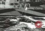Image of Transferring wounded between ships on Stokes stretcher Mariana Islands, 1944, second 1 stock footage video 65675062231