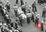 Image of Transferring wounded between ships on Stokes stretcher Mariana Islands, 1944, second 17 stock footage video 65675062231