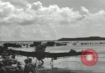 Image of United States soldiers setting up positions on Guam Guam Mariana Islands, 1944, second 33 stock footage video 65675062232