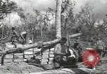 Image of United States soldiers setting up positions on Guam Guam Mariana Islands, 1944, second 42 stock footage video 65675062232
