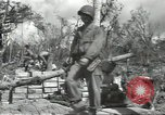 Image of United States soldiers setting up positions on Guam Guam Mariana Islands, 1944, second 46 stock footage video 65675062232