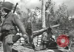 Image of United States soldiers setting up positions on Guam Guam Mariana Islands, 1944, second 47 stock footage video 65675062232