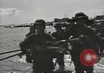Image of United States soldiers establishing positions on Guam Guam Mariana Islands, 1944, second 36 stock footage video 65675062233
