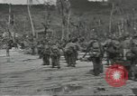 Image of United States soldiers establishing positions on Guam Guam Mariana Islands, 1944, second 55 stock footage video 65675062233