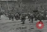 Image of United States soldiers establishing positions on Guam Guam Mariana Islands, 1944, second 58 stock footage video 65675062233