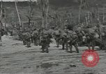 Image of United States soldiers establishing positions on Guam Guam Mariana Islands, 1944, second 60 stock footage video 65675062233