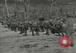 Image of United States soldiers establishing positions on Guam Guam Mariana Islands, 1944, second 62 stock footage video 65675062233