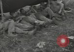 Image of US troops bivouaced on Guam Guam Mariana Islands, 1944, second 26 stock footage video 65675062234