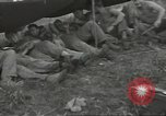 Image of US troops bivouaced on Guam Guam Mariana Islands, 1944, second 27 stock footage video 65675062234
