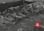 Image of US troops bivouaced on Guam Guam Mariana Islands, 1944, second 28 stock footage video 65675062234