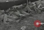 Image of US troops bivouaced on Guam Guam Mariana Islands, 1944, second 29 stock footage video 65675062234