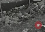Image of US troops bivouaced on Guam Guam Mariana Islands, 1944, second 30 stock footage video 65675062234