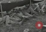 Image of US troops bivouaced on Guam Guam Mariana Islands, 1944, second 31 stock footage video 65675062234