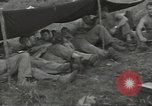 Image of US troops bivouaced on Guam Guam Mariana Islands, 1944, second 32 stock footage video 65675062234