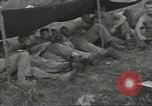 Image of US troops bivouaced on Guam Guam Mariana Islands, 1944, second 33 stock footage video 65675062234