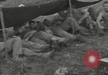 Image of US troops bivouaced on Guam Guam Mariana Islands, 1944, second 34 stock footage video 65675062234