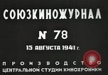 Image of Russian official Soviet Union, 1941, second 19 stock footage video 65675062259