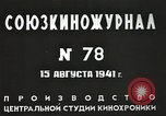 Image of Russian official Soviet Union, 1941, second 20 stock footage video 65675062259