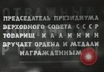 Image of Russian official Soviet Union, 1941, second 37 stock footage video 65675062259