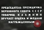 Image of Russian official Soviet Union, 1941, second 39 stock footage video 65675062259