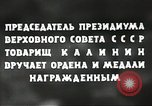 Image of Russian official Soviet Union, 1941, second 40 stock footage video 65675062259