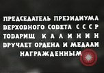 Image of Russian official Soviet Union, 1941, second 46 stock footage video 65675062259