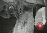 Image of Soviet farmers cutting and threshing stalks of grain during World War 2 Soviet Union, 1941, second 27 stock footage video 65675062264
