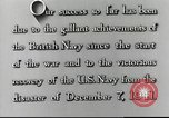 Image of Japanese attack on Pearl Harbor Pearl Harbor Hawaii USA, 1941, second 38 stock footage video 65675062271