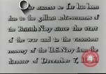 Image of Japanese attack on Pearl Harbor Pearl Harbor Hawaii USA, 1941, second 40 stock footage video 65675062271