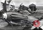 Image of Devastation from Japanese attack on Pearl Harbor Pearl Harbor Hawaii USA, 1941, second 27 stock footage video 65675062272