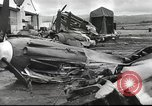 Image of Devastation from Japanese attack on Pearl Harbor Pearl Harbor Hawaii USA, 1941, second 28 stock footage video 65675062272