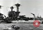 Image of Devastation from Japanese attack on Pearl Harbor Pearl Harbor Hawaii USA, 1941, second 35 stock footage video 65675062272