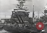 Image of Devastation from Japanese attack on Pearl Harbor Pearl Harbor Hawaii USA, 1941, second 36 stock footage video 65675062272