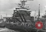 Image of Devastation from Japanese attack on Pearl Harbor Pearl Harbor Hawaii USA, 1941, second 38 stock footage video 65675062272