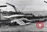 Image of Devastation from Japanese attack on Pearl Harbor Pearl Harbor Hawaii USA, 1941, second 39 stock footage video 65675062272