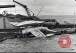 Image of Devastation from Japanese attack on Pearl Harbor Pearl Harbor Hawaii USA, 1941, second 40 stock footage video 65675062272