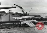 Image of Devastation from Japanese attack on Pearl Harbor Pearl Harbor Hawaii USA, 1941, second 41 stock footage video 65675062272