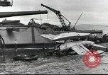 Image of Devastation from Japanese attack on Pearl Harbor Pearl Harbor Hawaii USA, 1941, second 42 stock footage video 65675062272
