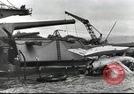 Image of Devastation from Japanese attack on Pearl Harbor Pearl Harbor Hawaii USA, 1941, second 43 stock footage video 65675062272