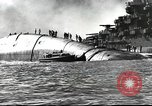 Image of Devastation from Japanese attack on Pearl Harbor Pearl Harbor Hawaii USA, 1941, second 44 stock footage video 65675062272